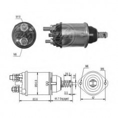 Solenoid, electromotor - ERA 227558 - Solenoid Auto