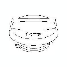 Buson, umplere ulei OPEL ASTRA G hatchback 2.0 DTI 16V - TOPRAN 205 210 - Buson ulei Auto