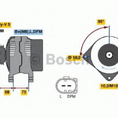 Generator / Alternator BMW 3 Touring 320 d - BOSCH 0 986 045 251 - Alternator auto