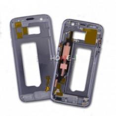 Rama carcasa mijloc Samsung Galaxy S7 G930 neagra