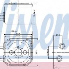 Radiator ulei, ulei motor VW SHARAN 1.9 TDI - NISSENS 90652 - Radiator auto ulei