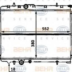 Radiator, racire motor CITROËN XSARA 1.6 16V - HELLA 8MK 376 718-131 - Radiator racire LuK