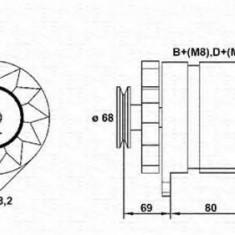 Generator / Alternator BMW 3 limuzina 318 is - MAGNETI MARELLI 943356512010 - Alternator auto