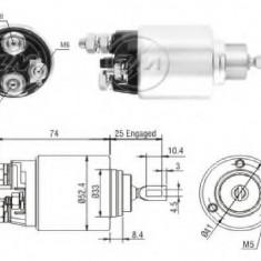 Solenoid, electromotor FIAT DUCATO caroserie 140 Natural Power - ERA 227150 - Solenoid Auto