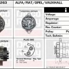 Generator / Alternator OPEL SIGNUM 1.9 CDTI - DELCO REMY DRA4263 - Alternator auto
