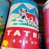 Cutie veche cu reclama TATRA