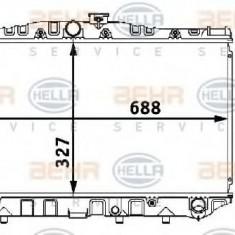Radiator, racire motor TOYOTA COROLLA Liftback 1.8 D - HELLA 8MK 376 708-181 - Radiator racire LuK