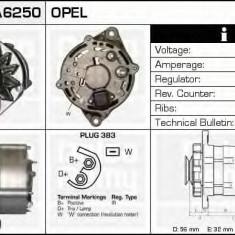 Generator / Alternator OPEL KADETT E hatchback 1.6 D - DELCO REMY DRA6250 - Alternator auto
