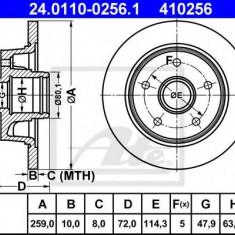 Disc frana MAZDA 626 Mk III combi 2.0 - ATE 24.0110-0256.1 - Discuri frana REINZ