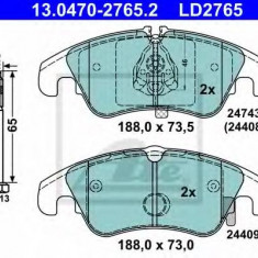 Placute frana REINZ AUDI A7 Sportback 3.0 TDI - ATE 13.0470-2765.2