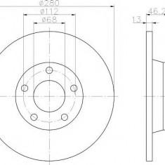 Disc frana - TEXTAR 92071600 - Discuri frana