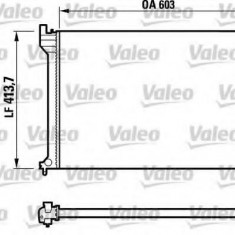 Radiator, racire motor CITROËN XANTIA 2.0 HDI 90 - VALEO 732617 - Radiator racire Bosch