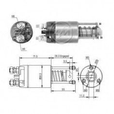 Solenoid, electromotor FIAT STRADA II 60 Diesel 1.7 - ERA 227605