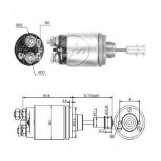Solenoid, electromotor - ERA 227590 - Solenoid Auto