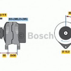 Generator / Alternator OPEL VECTRA B 2.2 DTI 16V - BOSCH 0 986 044 030 - Alternator auto