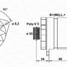 Generator / Alternator RENAULT CLIO  1.8 16V - MAGNETI MARELLI 943356564010 - Alternator auto