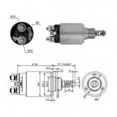 Solenoid, electromotor - ERA 227091 - Solenoid Auto