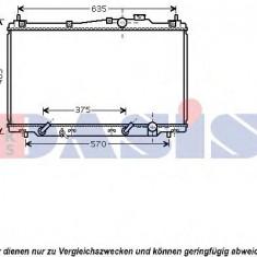 Radiator, racire motor HONDA STREAM 1.7 16V - AKS DASIS 100054N - Radiator racire KLOKKERHOLM