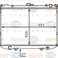 Radiator, racire motor NISSAN NAVARA pick-up 2.5 D 4WD - HELLA 8MK 376 707-521 - Radiator racire LuK