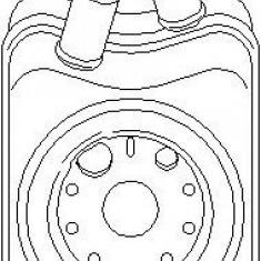 Radiator ulei, ulei motor AUDI A3 1.8 - TOPRAN 109 778 - Radiator auto ulei