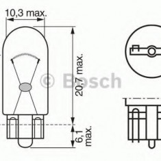 Bec incandescent - BOSCH 1 987 302 223