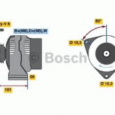 Generator / Alternator MERCEDES-BENZ C-CLASS limuzina C 230 Kompressor - BOSCH 0 986 041 040 - Alternator auto