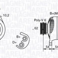 Generator / Alternator LANCIA KAPPA 2.0 20V - MAGNETI MARELLI 063321729010 - Alternator auto