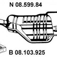 Toba esapament finala OPEL ASTRA G hatchback 1.7 TD - EBERSPÄCHER 08.599.84 - Toba finala auto