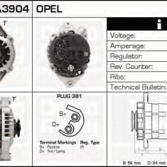 Generator / Alternator OPEL VECTRA A hatchback 1.6 i - DELCO REMY DRA3904 - Alternator auto