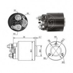 Solenoid, electromotor - ERA 227514 - Solenoid Auto