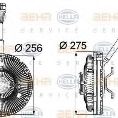 Cupla, ventilator radiator DAF XF 105 FA 105.460 - HELLA 8MV 376 734-211 - Termocupla auto