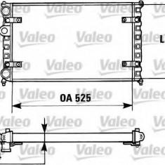 Radiator, racire motor VW CADDY Mk II 1.7 SDI - VALEO 730947 - Radiator racire Bosch