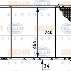 Radiator, racire motor NISSAN PATROL Station Wagon 2.8 TD - HELLA 8MK 376 706-281 - Radiator racire LuK