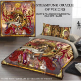 Set lenjerie de pat din bumbac Oracolul steampunk 220x230