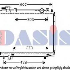 Radiator, racire motor MAZDA PROCEED/DRIFTER 2.5 D 4WD - AKS DASIS 110043N - Radiator racire KLOKKERHOLM