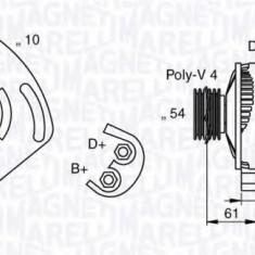 Generator / Alternator FIAT PUNTO 1.2 - MAGNETI MARELLI 063377030010 - Alternator auto