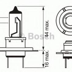 Bec, far faza lunga MERCEDES-BENZ A-CLASS A 200 CDI - BOSCH 1 987 302 077 - Far Moto Sachs