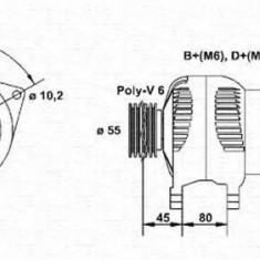 Generator / Alternator FORD MONDEO  1.6 i 16V - MAGNETI MARELLI 943356799010 - Alternator auto