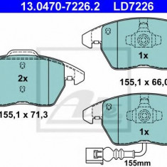 Placute frana REINZ AUDI TT 45 TFSI - ATE 13.0470-7226.2