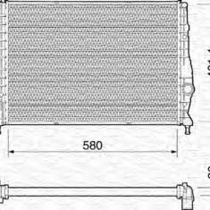 Radiator, racire motor ALFA ROMEO 147 1.9 JTD - MAGNETI MARELLI 350213193000