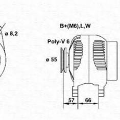 Generator / Alternator RENAULT LAGUNA I I 2.0 - MAGNETI MARELLI 943356961010 - Alternator auto