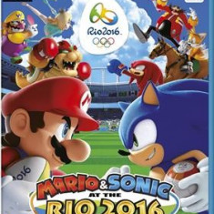 Mario & Sonic At The Rio 2016 Olympic Games Nintendo Wii U - Jocuri WII U, Sporturi, 3+
