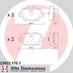 Placute frana MINI MINI COUNTRYMAN Cooper S ALL4 - ZIMMERMANN 23623.170.1