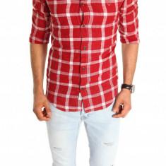 Camasa tip Zara - camasa barbati - camasa slim - camasa fashion - cod 6702, Marime: M, XXL, Culoare: Din imagine, Maneca lunga