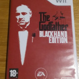 Wii The godfather Blackhand edition - joc original PAL by WADDER