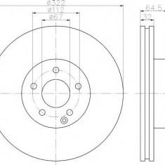 Disc frana - TEXTAR 92163500 - Discuri frana