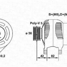 Generator / Alternator AUDI 80 Avant RS2 quattro - MAGNETI MARELLI 943355045010 - Alternator auto