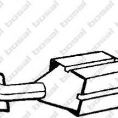 Catalizator CITROËN XSARA PICASSO 2.0 HDi - BOSAL 099-012 - Catalizator auto