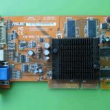 Placa Video Asus Ati 9550 256MB 128biti AGP - ARTEFACTE - Placa video PC