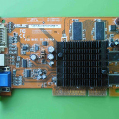 Placa Video Asus Ati 9550 256MB 128biti AGP - ARTEFACTE - Placa video PC